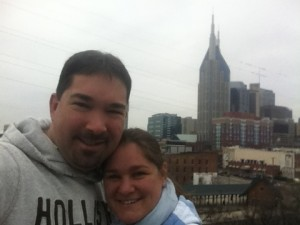 Phil and Tany in Nashville