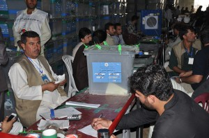 EUPOL Afghanistan: EUPOL's support to the Afghan Election Audit Process